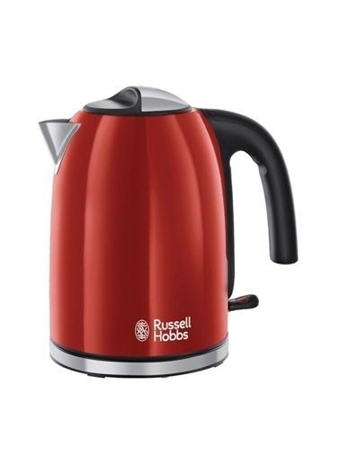 Russell Hobbs 20412-70/Rh Colours Plus Kırmızı Kettle Beyaz
